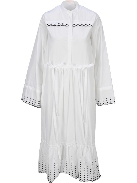 See by Chloé See By Chloe' Embroidered Midi Dress