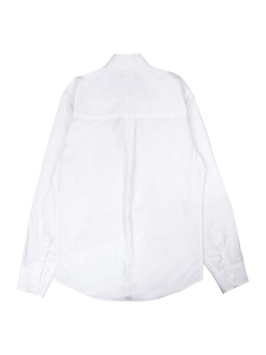 Fendi White Cotton Shirt