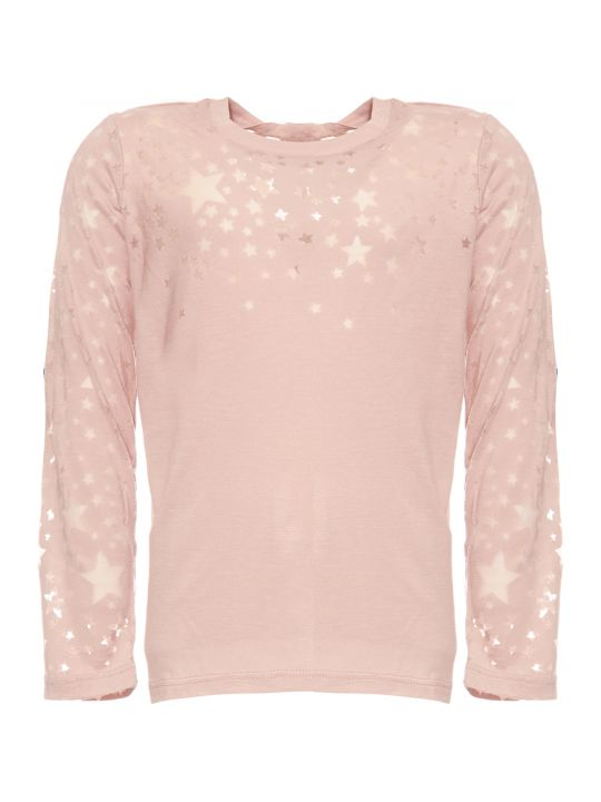 Stella McCartney Devore`stars Ls T-shirt