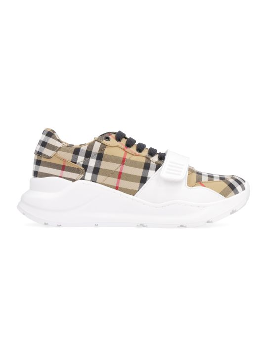 Burberry Regis Check Motif Sneakers