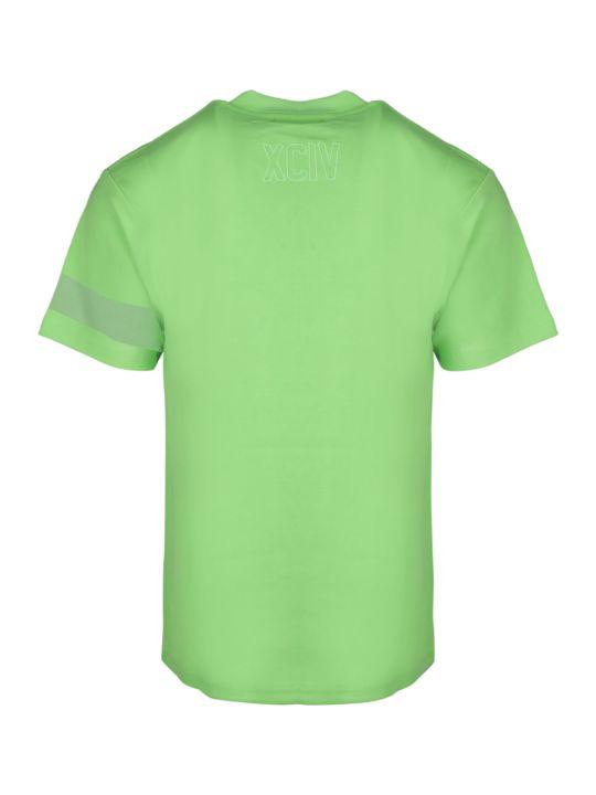 GCDS Logo Tee Fluo T-shirt