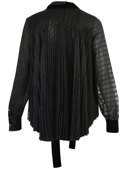 Sacai Pleated Blouse