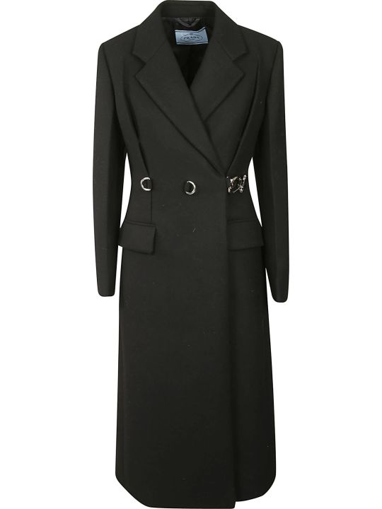 Prada Belted Long Coat