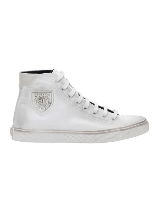 Saint Laurent Bedford Mid Top Sneakers