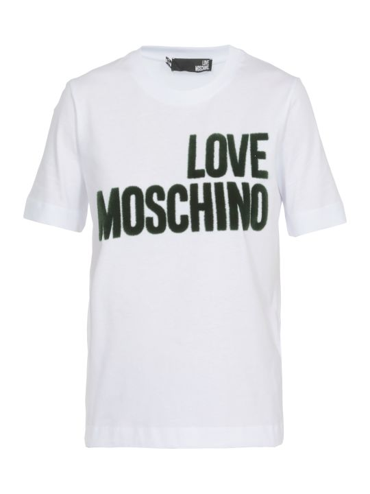 Love Moschino Logo T Shirt