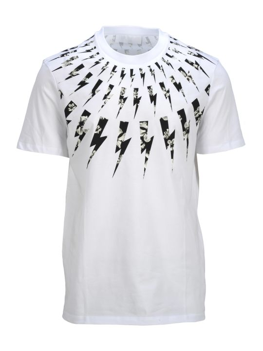 Neil Barrett Tshirt Around Neck Thunders