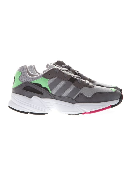 Adidas Originals Yung Grey Suede & Mesh Sneakers