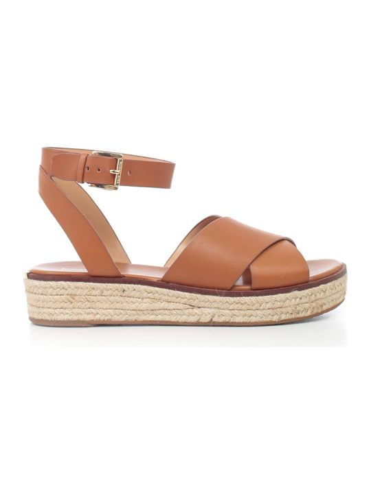 MICHAEL Michael Kors Crossover Strap Sandals