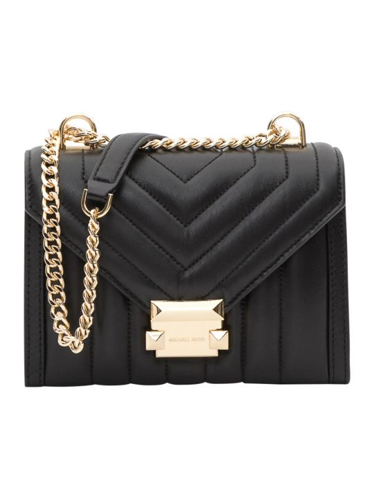 MICHAEL Michael Kors Whitney Quilted Leather Convertible Shoulder Bag