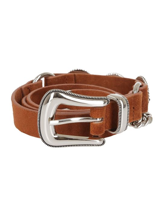 B-Low the Belt Chain Detail Belt