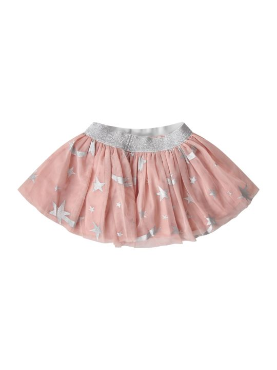 Stella McCartney Kids Pink Babaygirl Skirt With Colorful Pois