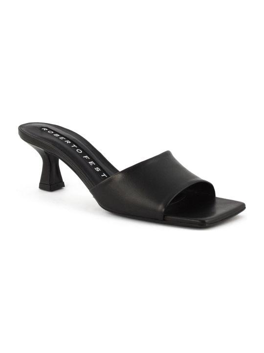 Roberto Festa Eleonor Black Sandal
