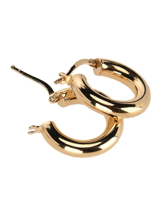 Bottega Veneta Polished Hoop Earrings