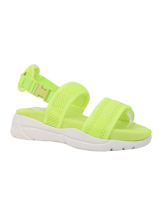 Kendall + Kylie Yellow Sandals