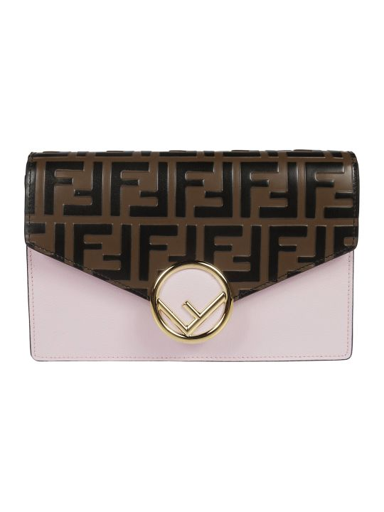 Fendi Ff Logo Continental Wallet
