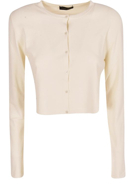 Roberto Collina Cropped Cardigan