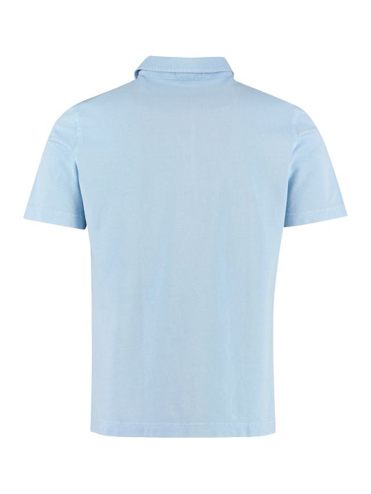 Drumohr Cotton-piqué Polo Shirt