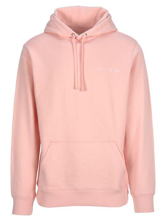 Calvin Klein Jeans Hooded Fleece Logo Back