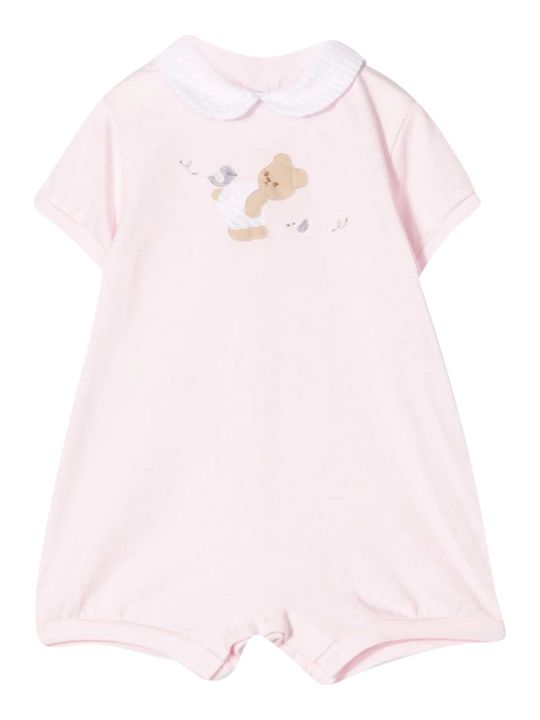 Il Gufo Embroidered Onesie