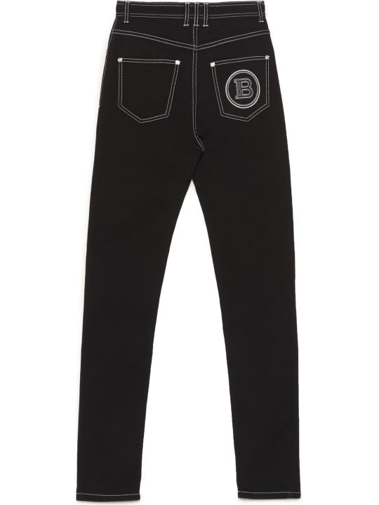Balmain 'acid Wash' Jeans