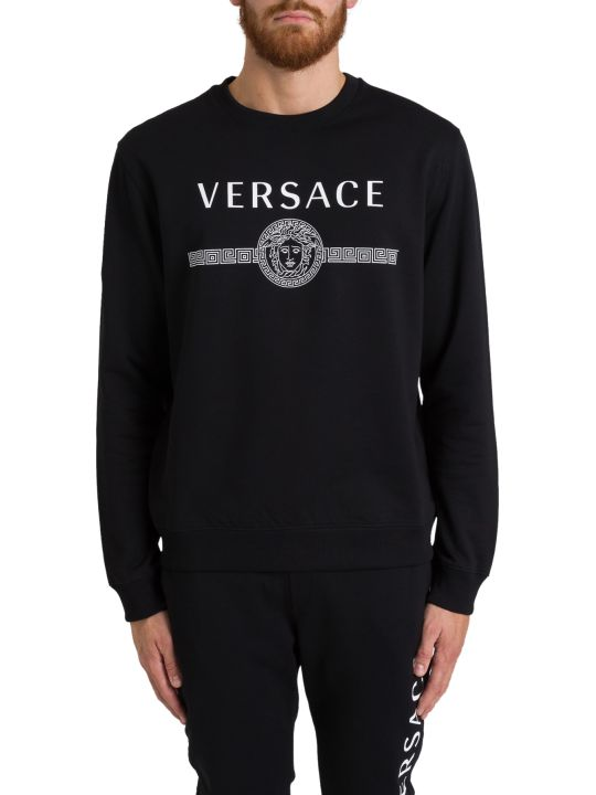 Versace Logo & Medusa Sweatshirt