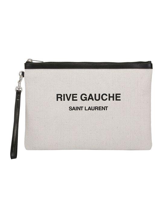 Saint Laurent Rive Gauche Pouch