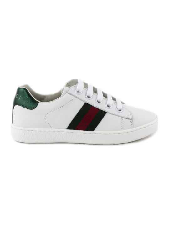 Gucci Ace White Leather Sneaker