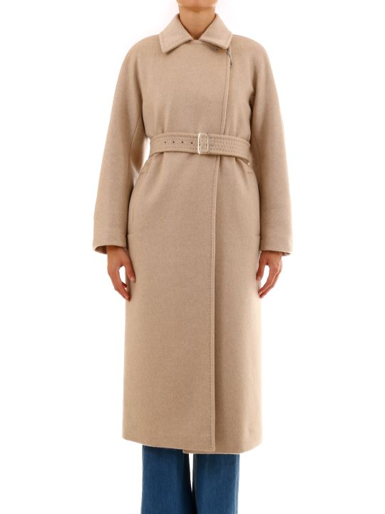 Max Mara Coat With Belt