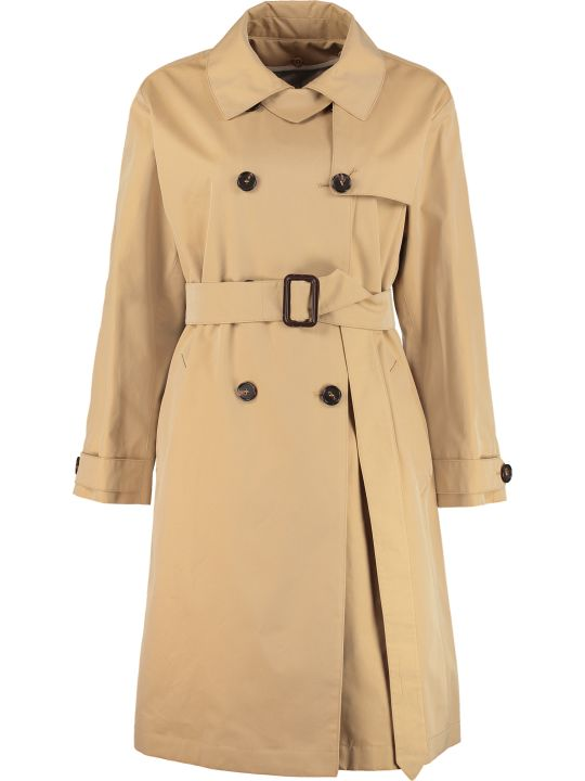 Max Mara The Cube Ctrench Gabardine Trench Coat