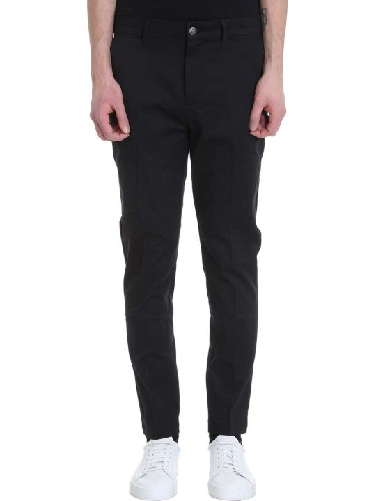 Calvin Klein Jeans Black Cotton Pants