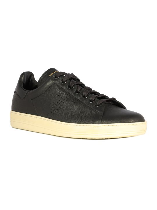Tom Ford Lowtop Leather Sneakers