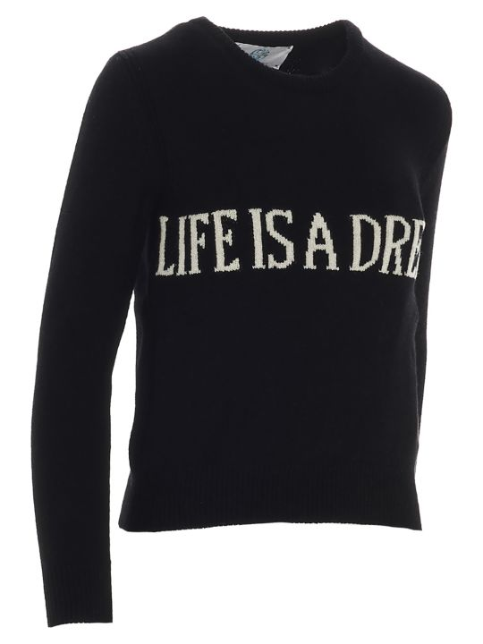 Alberta Ferretti 'life Is Dream' Sweater