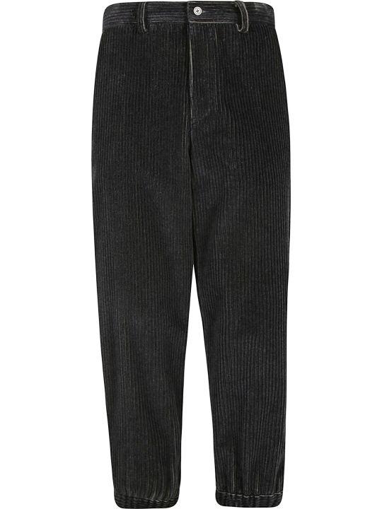 Emporio Armani Denim Ribbed Trousers