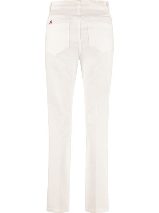 Tory Burch High-rise Straight Ankle Jeans