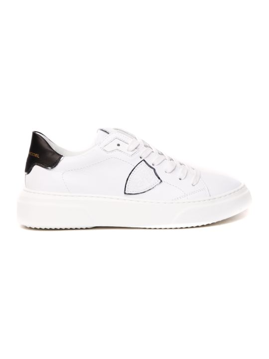 Philippe Model White Leather Sneaker