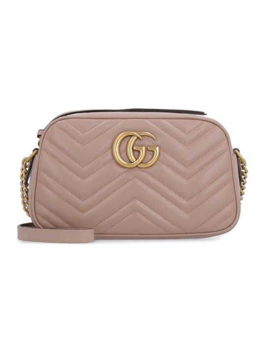 Gucci Marmont Quilted Leather Shoulder Bag