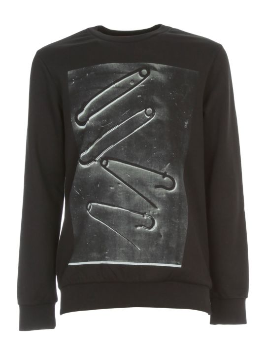 Paul Smith Gents Safety Pin Print Sweatshirt