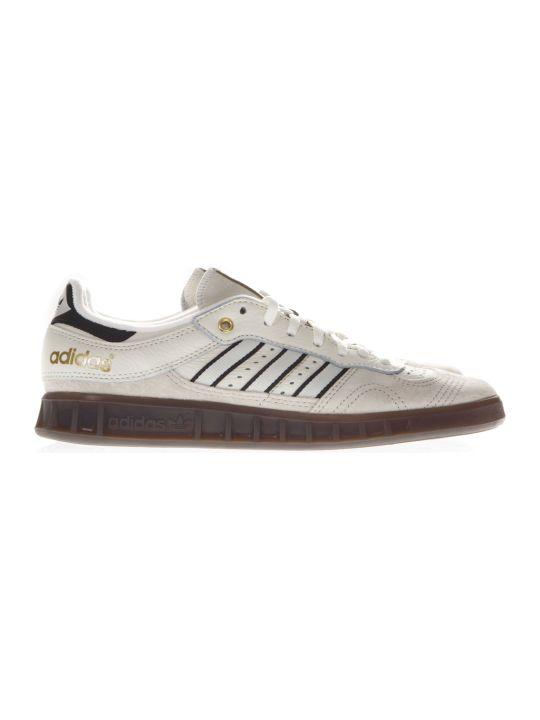 Adidas Originals Handball Top Cream Color Suede Sneakers