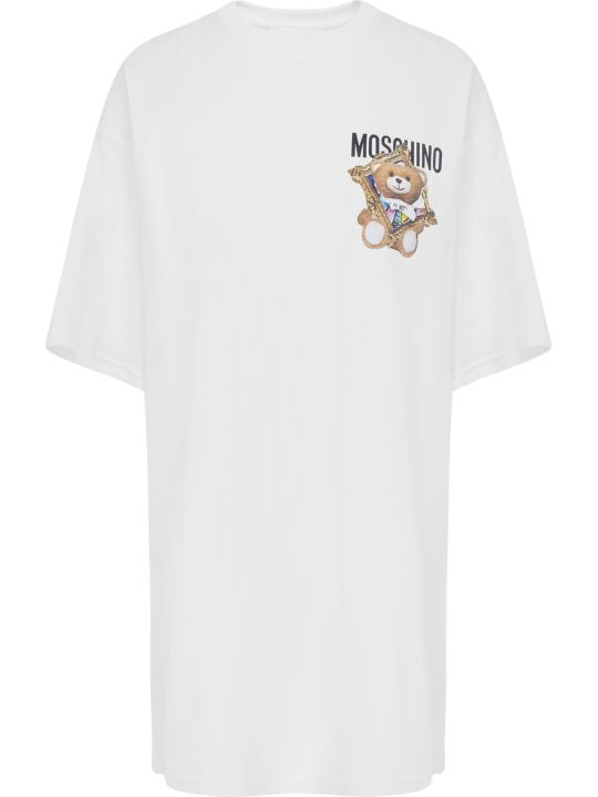 Moschino Frame Teddy Bear Dress