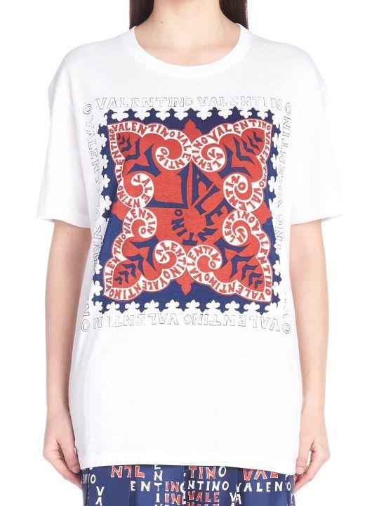 Valentino 'mini Bandana' T-shirt