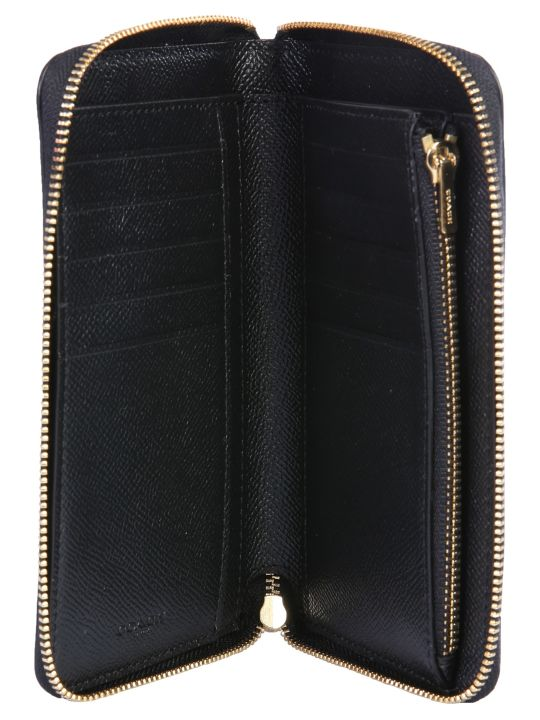 Coach Wallet With Logo