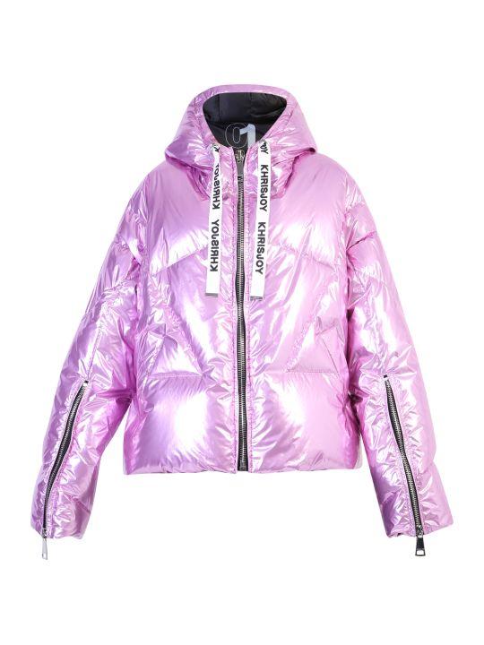 Khrisjoy Metallic Nylon Padded Jacket