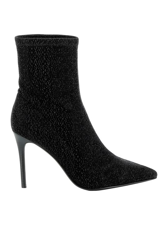 Kendall + Kylie Kendall+kylie Black Fabric Ankle Boots