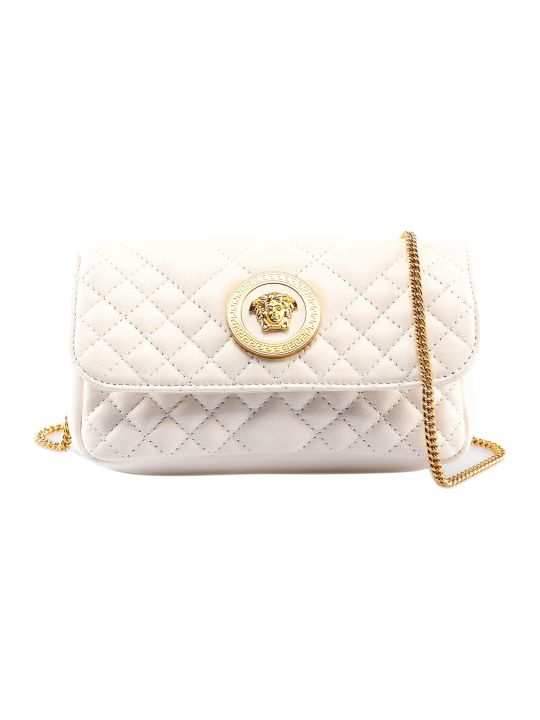 Versace Lambskin Shoulder Bag
