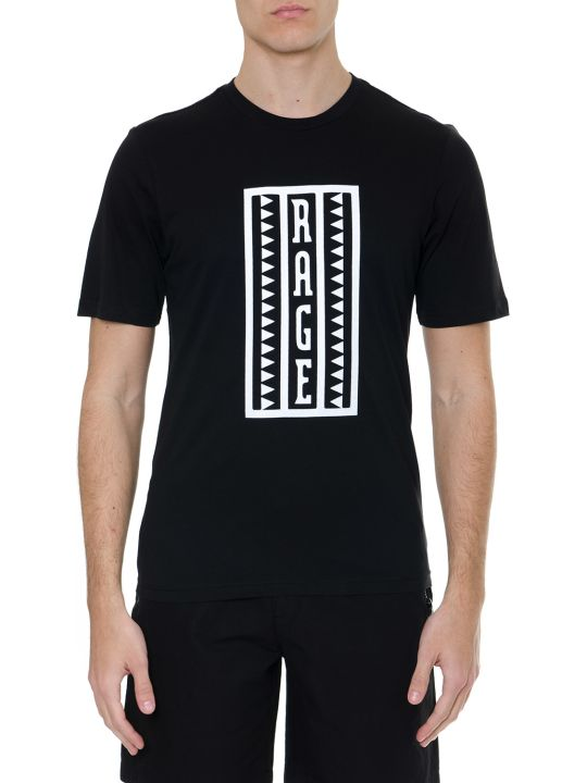 The North Face 92 Retro Raged Black Jersey Cotton T-shirt