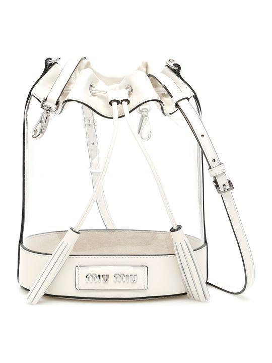 Miu Miu Plexi Bucket Bag