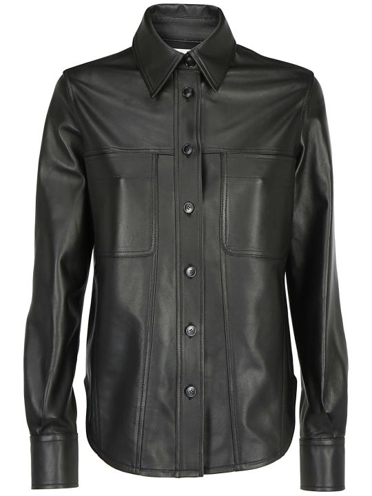 Calvin Klein Leather Shirt