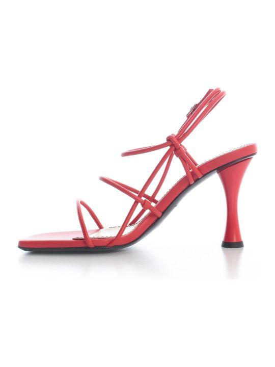 Proenza Schouler Open Toe Pumps W/belt On Ankle