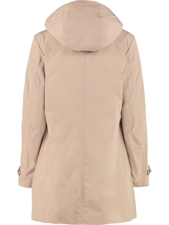 Woolrich Charlotte Hooded Trench Coat