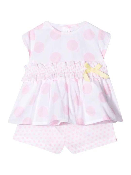 Il Gufo Kids Pink Suit